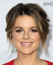 Ali Fedotowsky attended the Baby2Baby Gala wearing a messy-sexy updo.