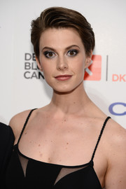 Elettra Wiedemann looked edgy-glam with her short 'do at the 2014 Delete Blood Cancer Gala.