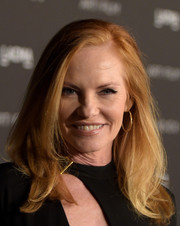 Marg Helgenberger kept it simple with this loose side-parted 'do at the LACMA Art + Film Gala.