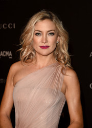Kate Hudson looked gorgeous with her long, piecey waves at the LACMA Art + Film Gala.