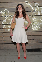 Laura de Gunzburg attended the Coach Summer Party wearing a flirty LWD.