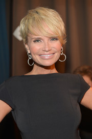 Kristin Chenoweth looked youthful with her emo bangs at the 2014 UNICEF Ball.