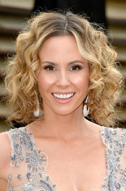 Keltie Knight looked darling at the Vanity Fair Oscar party with her short, tight curls.