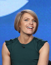 Kathleen Rose Perkins wore a perfectly neat bob at the 2014 Winter TCA Tour.
