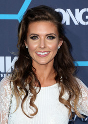 Audrina Patridge attended the Young Hollywood Awards wearing a messy-glam half-up 'do.