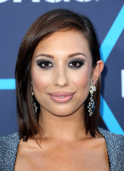 Cheryl Burke opted for a simple shoulder-length, straight 'do when she attended the Young Hollywood Awards.