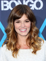Rachel Melvin wore a sweet and youthful wavy hairstyle at the Young Hollywood Awards.