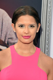 Rocsi Diaz opted for a simple center-parted bun when she attended the AFI Life Achievement Award Gala.