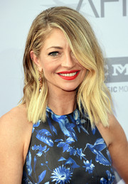 Rebecca Gayheart wore an edgy wavy hairstyle at the AFI Life Achievement Award Gala.