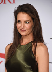 Katie Holmes opted for a simple straight cut when she attended the CFDA Fashion Awards.