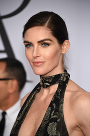 Hilary Rhoda went for simple elegance with this side-parted bun at the CFDA Fashion Awards.