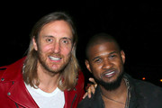 David Guetta and Usher Photo