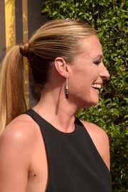 Cat Deeley attended the Creative Arts Emmy Awards wearing her long locks in a ponytail.