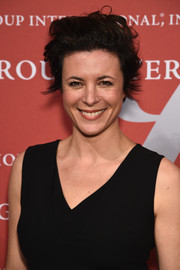 Garance Dore made bed head look so cute at the Night of Stars Gala.