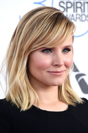 Kristen Bell sported a tousled 'do with side-swept bangs during the Film Independent Spirit Awards.