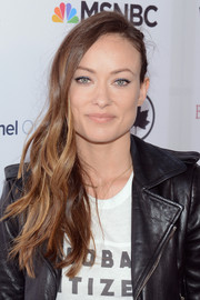 Olivia Wilde rocked an edgy side sweep at the Global Citizen Festival.