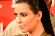 Kim Kardashian Long Straight Cut