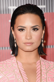 Demi Lovato rocked a wet-look bob at the MTV VMAs.