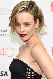 Rachel McAdams was sexily coiffed with this messy, wavy bob at the 'Every Thing Will Be Fine' photocall.