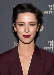 Rebecca Hall looked stylish with her textured short 'do at the Tribeca Film Festival after-party for 'Tumbledown.'