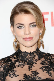 AnnaLynne McCord sported a red carpet-worthy ponytail at the Weinstein Company and Netflix Golden Globes party.