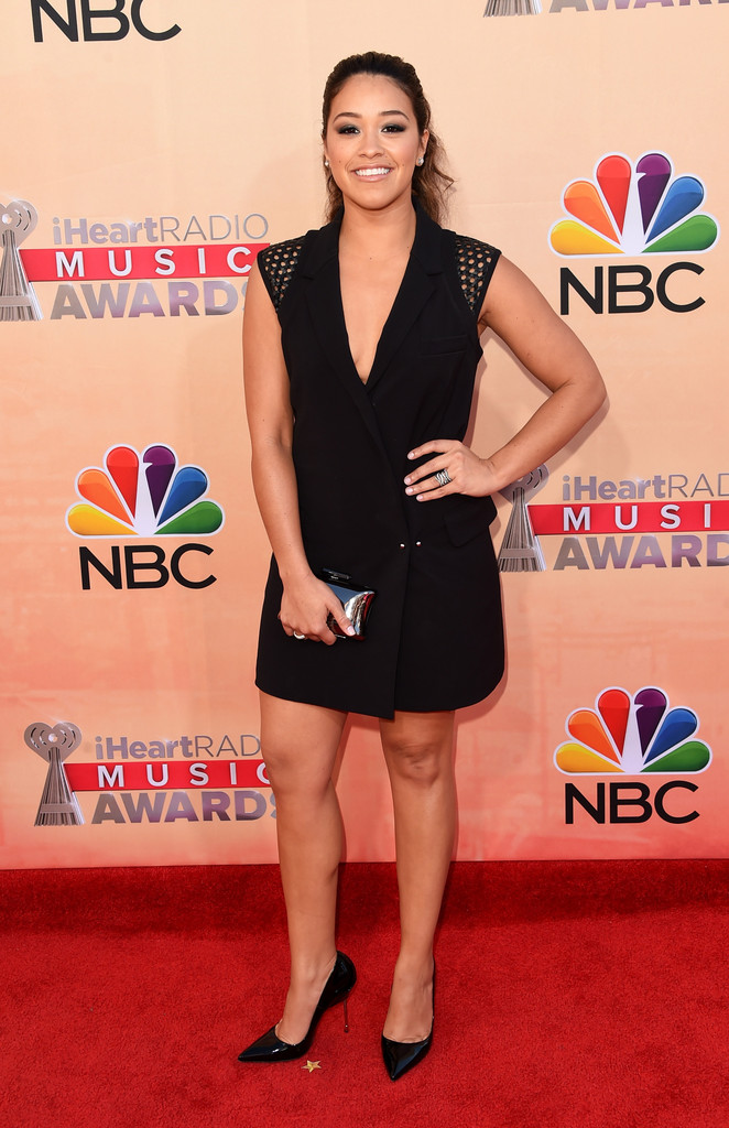 Gina Rodriguez Best Dressed At The 2015 Iheartradio