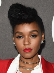 Janelle Monae rocked a towering pompadour at the Billboard Power 100 celebration.