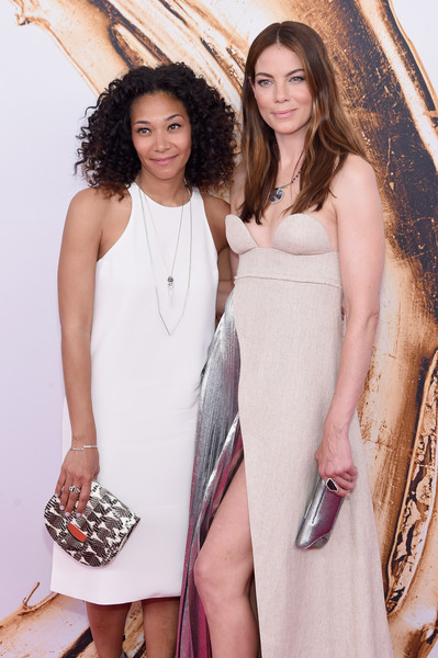 More Pics of Michelle Monaghan Metallic Clutch (5 of 6) - Clutches Lookbook - StyleBistro