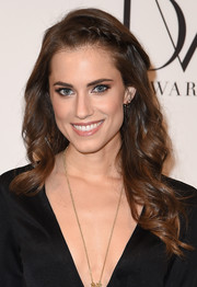 Allison Williams was gorgeously coiffed with soft waves and a crown braid at the DVF Awards.