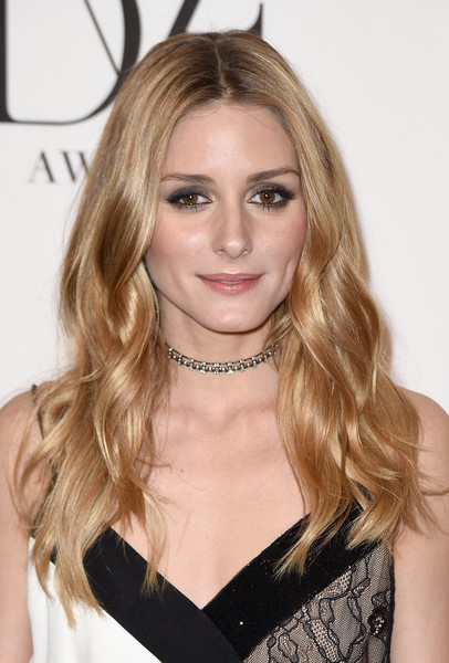 Olivia Palermo's Center-Parted Waves
