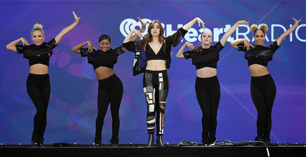 More Pics of Hailee Steinfeld Turtleneck (1 of 80) - Tops Lookbook - StyleBistro [entertainment,performance,performing arts,event,dance,dancer,choreography,stage,talent show,performance art,hailee steinfeld,dancers,actress,c,daytime village,las vegas village,nevada,iheartradio music festival]