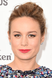 Brie Larson attended the Film Independent Spirit Awards sporting a super-edgy updo.