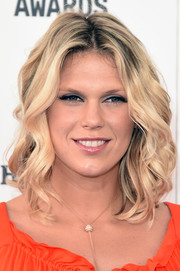 Alexandra Richards looked like a doll with her bouncy blonde curls at the Film Independent Spirit Awards.