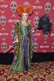 Bette Midler attended the 2016 Hulaween Party dressed as her character Winifred from 'Hocus Pocus.'