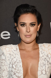 Rumer Willis attended the InStyle and Warner Bros. Golden Globes post-party wearing this teased short 'do.