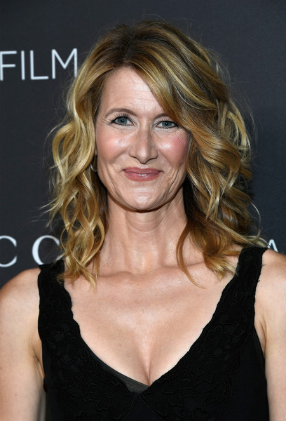 Laura Dern looked fab with her piecey curls at the 2016 LACMA Art + Film Gala.