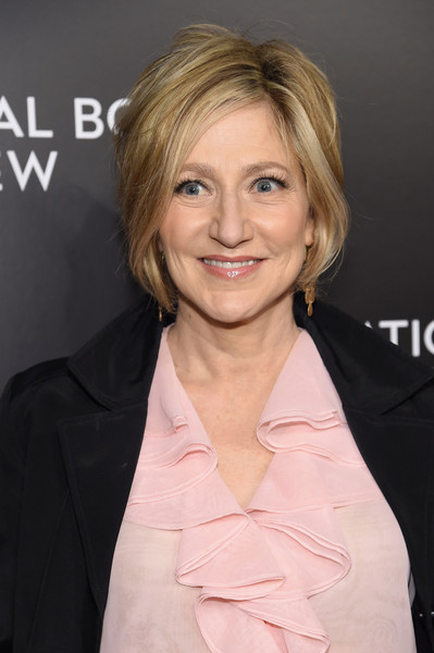 Edie Falco went for a classic bob at the 2016 National Board of Review Gala.