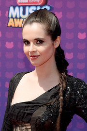 Vanessa Marano pulled her hair back into a sleek braid for the Radio Disney Music Awards.