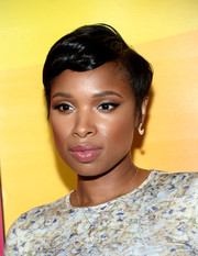Jennifer Hudson sported a summer-cool pixie at the NBCUniversal Summer TCA Tour.