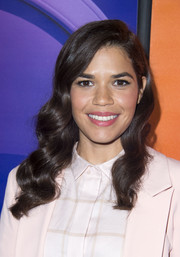 America Ferrera sported flawlessly styled waves at the NBCUniversal Summer TCA Tour.