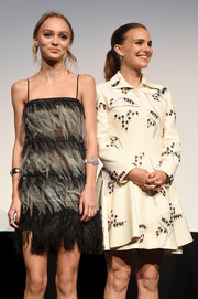 Lily-Rose Depp attended the TIFF premiere of 'Planetarium' wearing a beautiful diamond cuff.