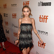 Lily-Rose Depp in Chanel at the 'Planterium' Premiere
