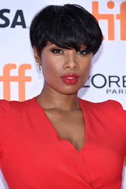 Jennifer Hudson sported a short emo cut at the TIFF premiere of 'Sing.'