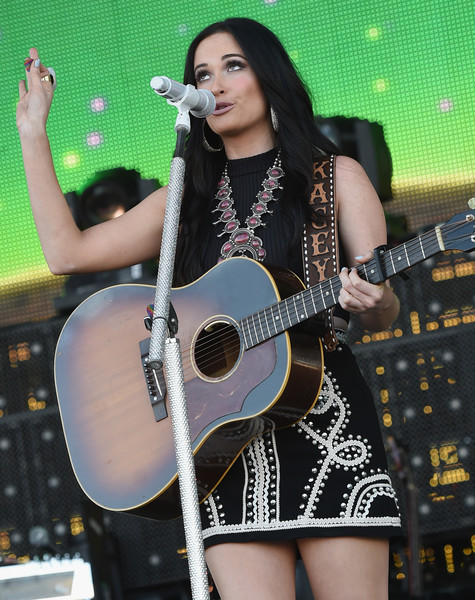 More Pics of Kacey Musgraves Mini Skirt (5 of 30) - Dresses & Skirts Lookbook - StyleBistro [kacey musgraves,string instrument,guitar,musician,music artist,performance,music,musical instrument,plucked string instruments,singer,windy city lakeshake country music festival,chicago,illinois,firstmerit bank pavilion,northerly island]