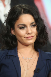 Vanessa Hudgens wore a cute curled-out bob at the Winter TCA Tour.