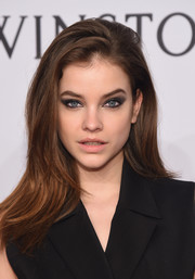 Barbara Palvin sported a slightly teased layered cut at the amfAR New York Gala.