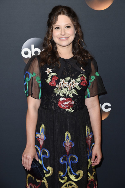 More Pics of Katie Lowes Half Up Half Down (1 of 5) - Katie Lowes Lookbook - StyleBistro