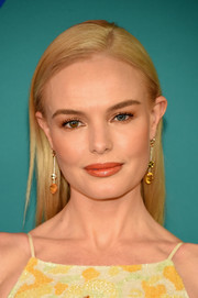 Kate Bosworth looked simply beautiful with her sleek straight 'do at the 2017 CFDA Fashion Awards.