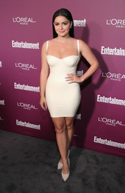 Ariel Winter sent pulses racing at the Entertainment Weekly pre-Emmy party with this slinky ivory latex dress by House of CB.