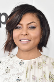 Taraji P. Henson looked sweet wearing this wavy bob at the 2017 Film Independent Spirit Awards.